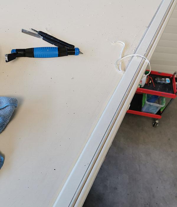 kit verwijderen dakrand